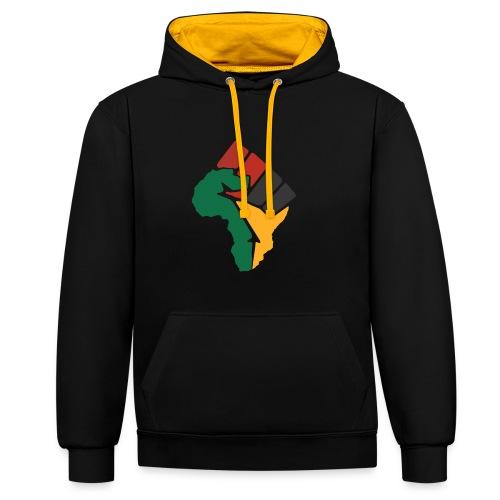Pan-African Alliance - Roots - Hoodie - Kontrast-Hoodie