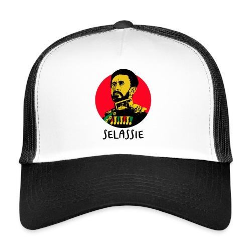 Haile Selassie I - Jah Rastafari - Cap - Trucker Cap