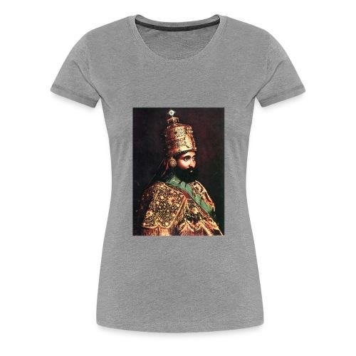 Haile Selassie I - Jah Rastafari - Shirt - Frauen Premium T-Shirt