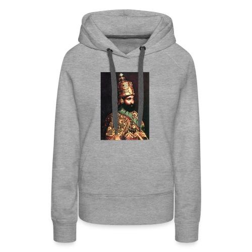Haile Selassie I - Jah Rastafari - Hoodie - Frauen Premium Hoodie