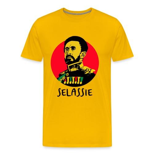 Haile Sleassie I - Jah Rastafari - Shirt - Männer Premium T-Shirt