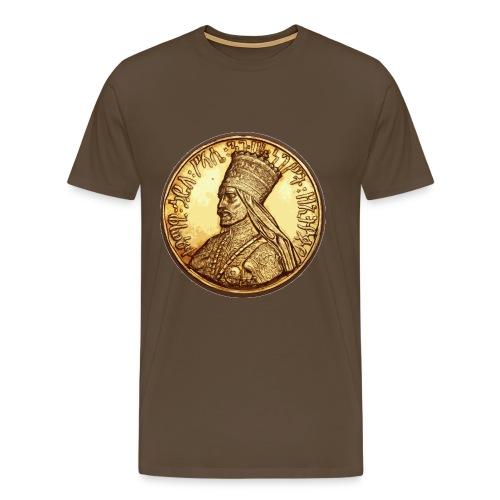 Haile Selassi I - Jah Rastafari - Shirt - Männer Premium T-Shirt