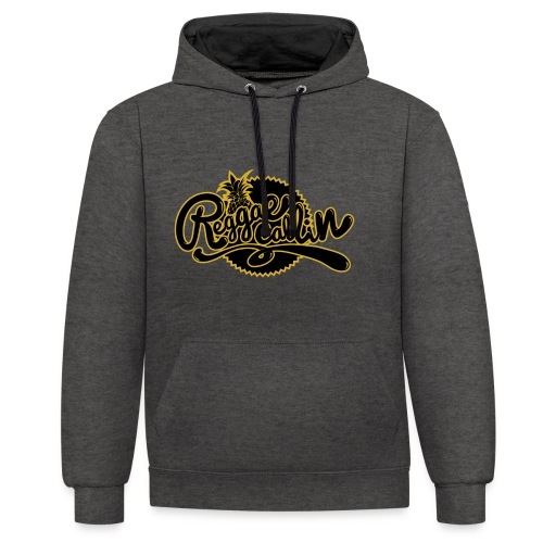 Reggae Callin - Rasta Roots Culture - Hoodie - Kontrast-Hoodie