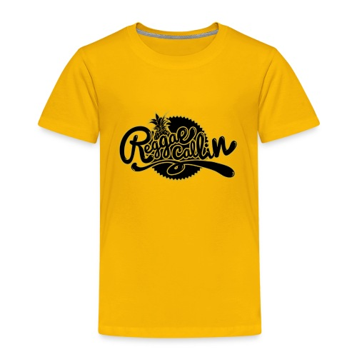 Reggae Callin - Rasta Roots Culture - Shirt - Kinder Premium T-Shirt