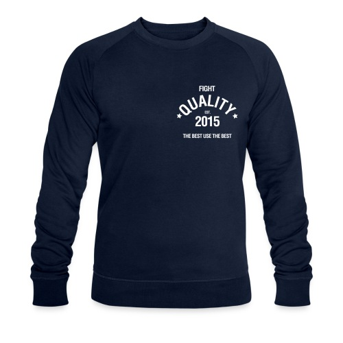 Mens Est. 2015 Jumper - Men's Organic Sweatshirt by Stanley & Stella