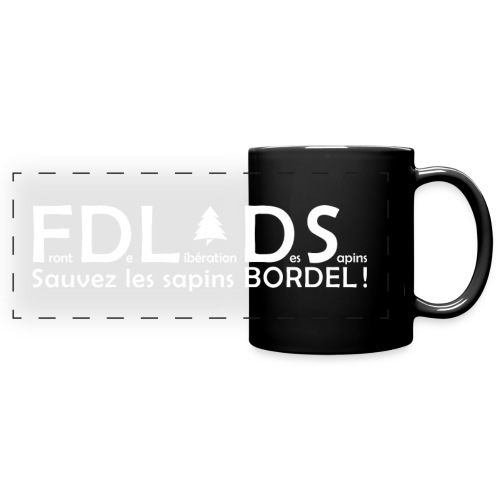 FDLDS Sauvons les Sapins - Mug panoramique uni