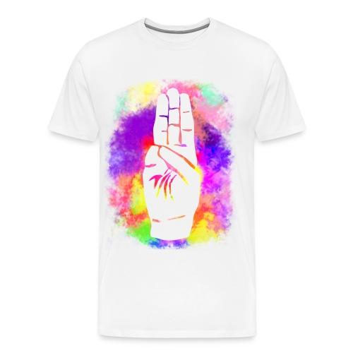 Greeting 01 Ms Tee - Herre premium T-shirt