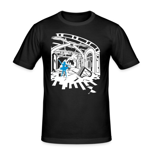 Breath of Dance - Men's Slim Fit T-Shirt