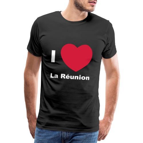 T-shirt Premium Homme I LOVE LA REUNION - T-shirt Premium Homme
