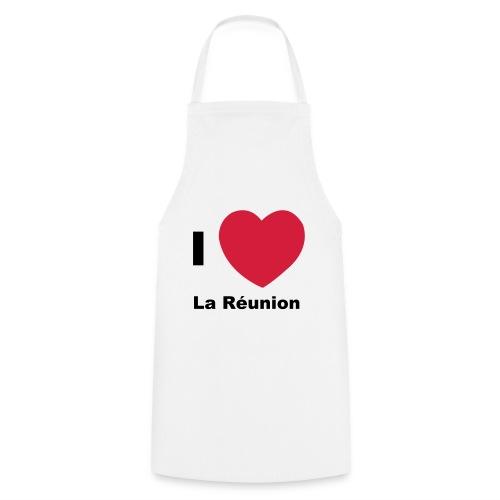 Tablier de cuisine I love La Réunion - Tablier de cuisine