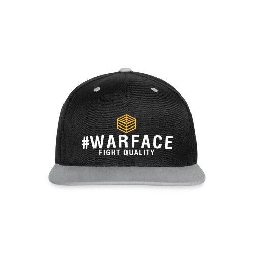 Mens #WARFACE Snapback - Contrast Snapback Cap