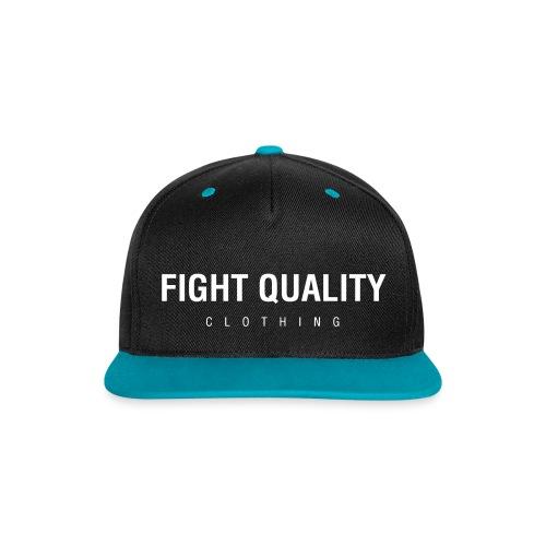 Mens FQ Clothing Snapback - Contrast Snapback Cap