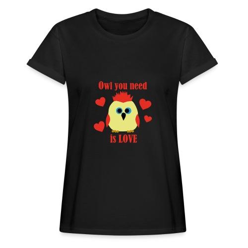 C'est la Chouette - T-shirt oversize Femme