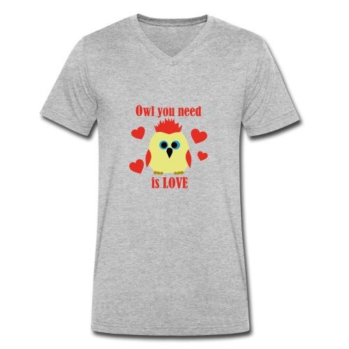 C'est la Chouette - T-shirt bio col V Stanley & Stella Homme