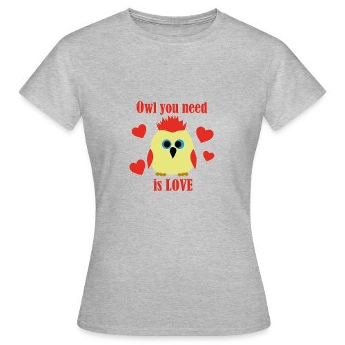 C'est la Chouette - T-shirt Femme