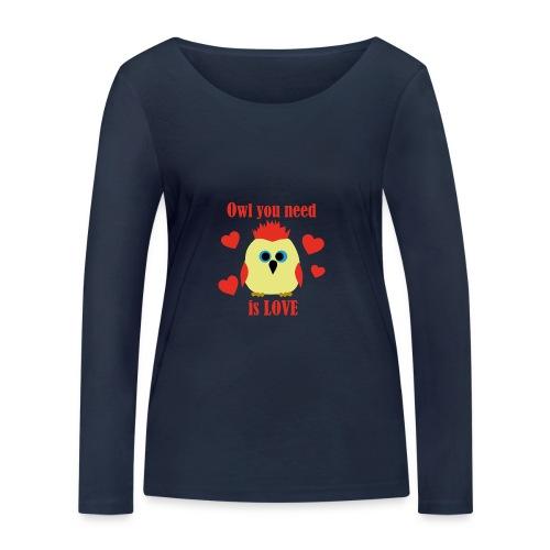 C'est la Chouette - T-shirt manches longues bio Stanley & Stella Femme