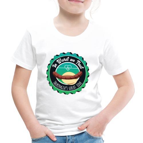 T-Shirt – In Wurst we Trust (Kiddies) - Kinder Premium T-Shirt