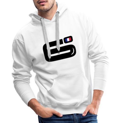 6Bulle Sweat Cocorico pour lui  - Sweat-shirt à capuche Premium pour hommes