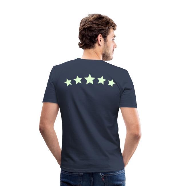 6Bulle Original Star 'Fluo la nuit' / T-Shirt coupe droite
