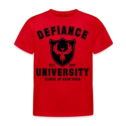 Kids Defiance University Top - Kids' T-Shirt
