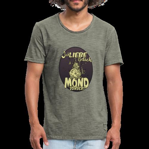 Ich liebe dich... - Männer Vintage T-Shirt