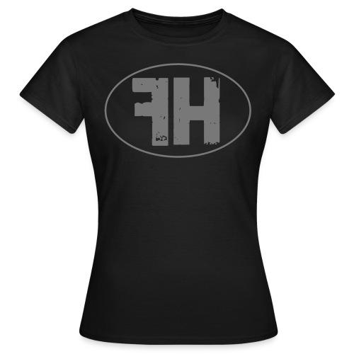 Falsche Helden - Logo-Oval-Frauen-Shirt  - Frauen T-Shirt