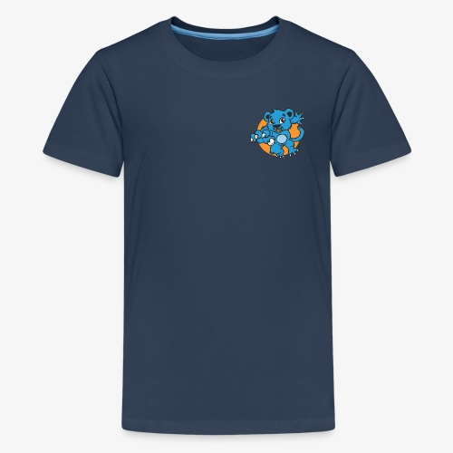 Teenager Freizeit T-Shirt Blauer Panther - Teenager Premium T-Shirt