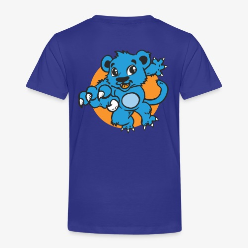 Kinder Freizeit T-Shirt Blauer Panther - Kinder Premium T-Shirt
