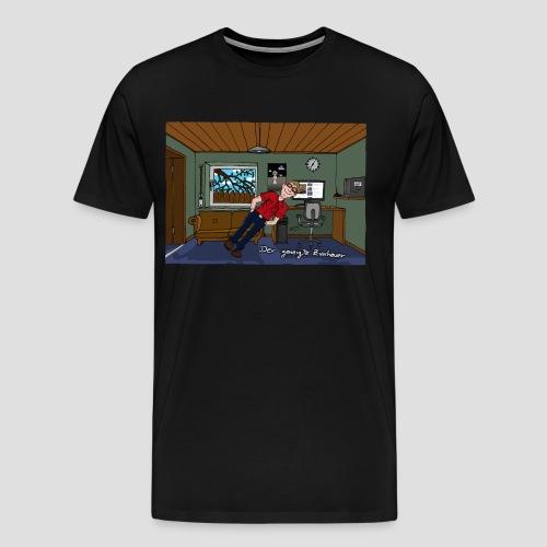 T-Shirt geneigter Zuschauer - Männer Premium T-Shirt