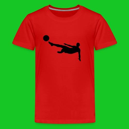 Voetbal volley teenager t-shirt - Teenager Premium T-shirt