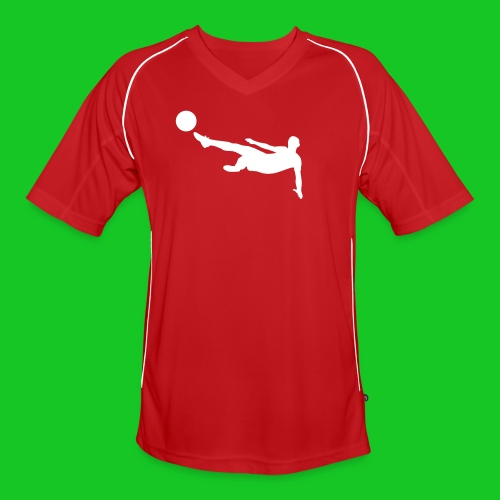 Voetbal volley voetbal shirt - Mannen voetbal shirt