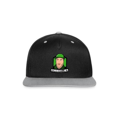 GamingKellner-Cap - Kontrast Snapback Cap