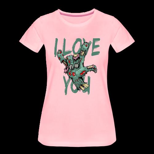 I love You Zombie - Frauen Premium T-Shirt