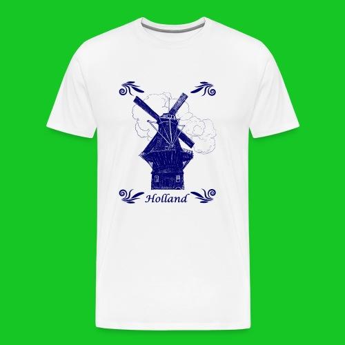Molen De Gooyer Amsterdam heren t-shirt - Mannen Premium T-shirt
