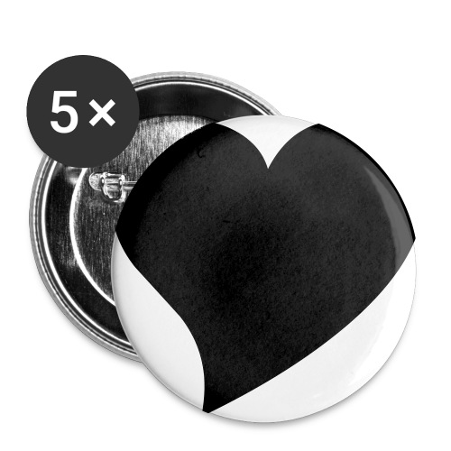Jeg liker deg! - Stor pin 56 mm (5-er pakke)