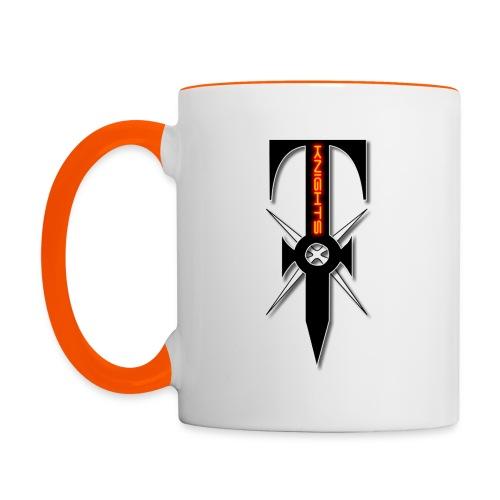Knights of Trinity Two-Tone Mug - Contrasting Mug