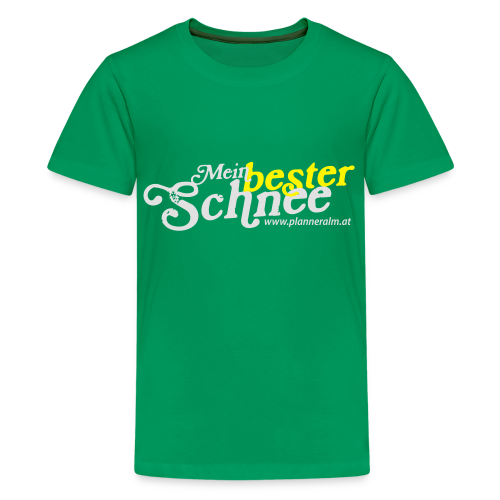 Teenager T-Shirt Mein bester Schnee - Teenager Premium T-Shirt