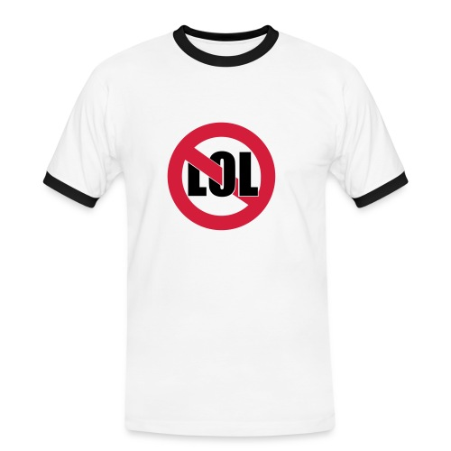 Lol t-shirt - Men's Ringer Shirt