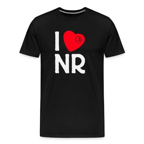 I Love NR - Herren-Premium-Shirt Groß - Männer Premium T-Shirt