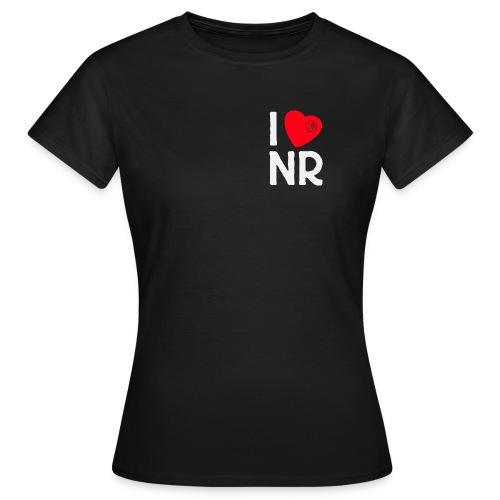 I Love NR - Frauen-Shirt - Frauen T-Shirt