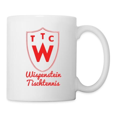 Tasse Wispenstein Tischtennis weiß - Tasse