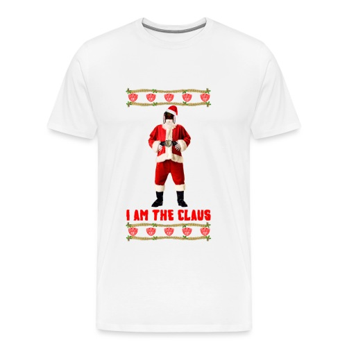 Judge Santa - I am The Claus T-Shirt. Free Colour Choice. - Men's Premium T-Shirt