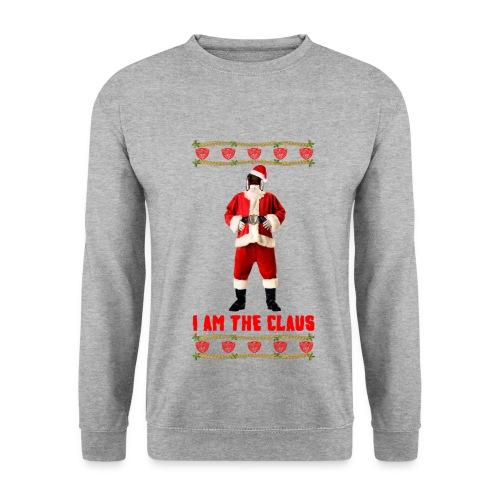 Judge Santa - I am The Claus Sweatshirt. Free Colour Choice. - Men's Sweatshirt