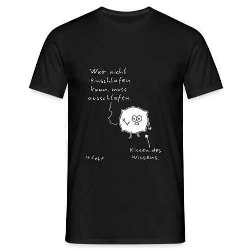 Kissen des Wissens, Männer-Shirt - Männer T-Shirt