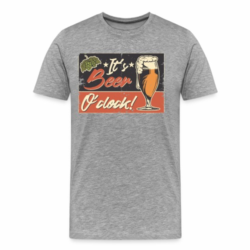 It´s Bier O´Clock - Männer Premium T-Shirt