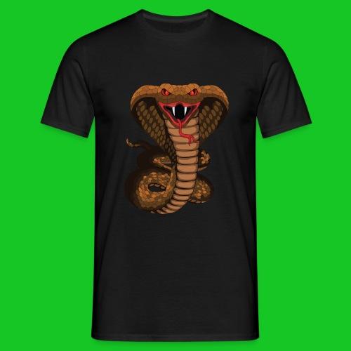 Cobra slang heren t-shirt - Mannen T-shirt