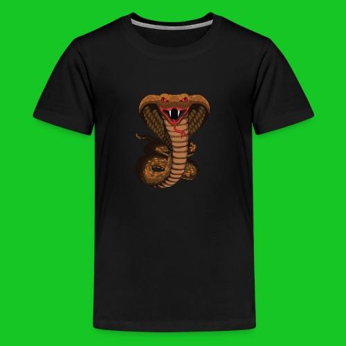 Cobra slang teenager t-shirt - Teenager Premium T-shirt