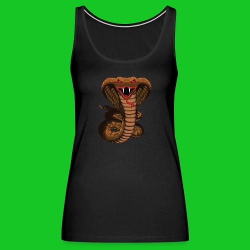 Cobra slang dames tank top - Vrouwen Premium tank top