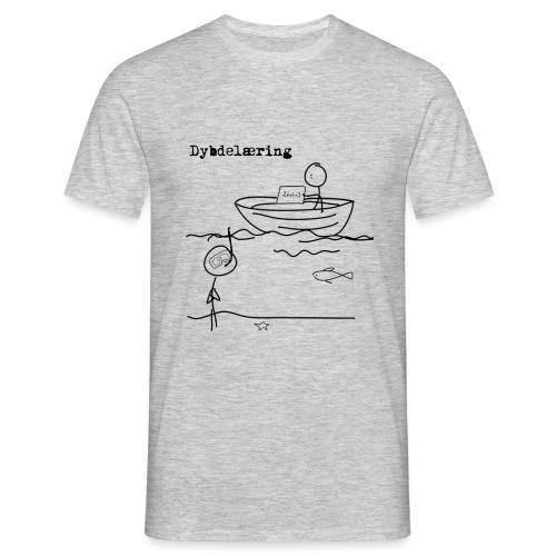 Dybdelæring - T-skjorte for menn