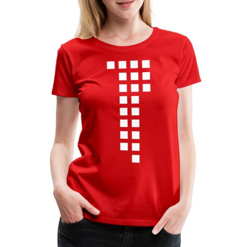 1893 Squares red Jasi-Style / Girls - Frauen Premium T-Shirt